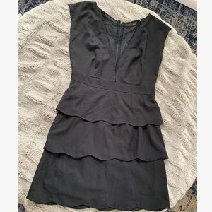 Mesh panel dress - Urban Outfitters